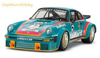 Tamiya 1/24 scalekit 24334 Porsche 934 Turbo RSR Vaillant 1/24 scalekit CAP24334