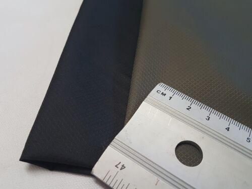 2oz*/60gsm- DIAMOND PATTERN - WATERPROOF, FABRIC MATERIAL CLOTH - BLACK & OLIVE