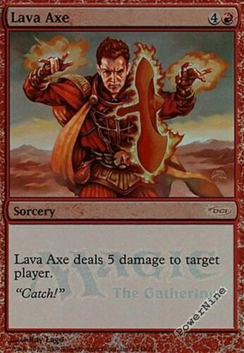 4 PROMO FOIL Lava Axe Red Gateway Mtg Magic Rare 4x x4