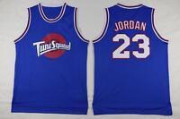 Space Jam Jersey Jordan Jersey 23 Tune Squad Basketball Swingman Throwback Blue