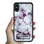 miniatura 8 - For iPhone 12 Pro Max 11 XS Case Marble IV Personalised Text Initial Custom Name