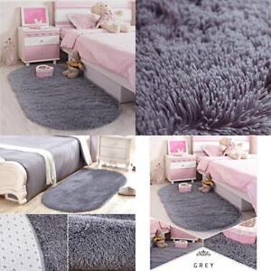 Details About Rug Soft Gy Carpet Modern Living Room Bedroom Designer Fluffy Cozy Rugs