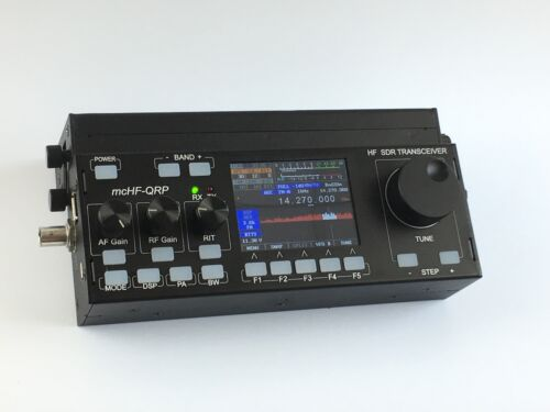 New External  5Ah Battery Box Case Pack For MCHF SDR  Radio