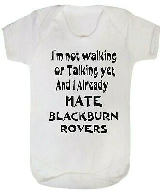 BLACKBURN Football Personalised Baby Bodysuit Vest