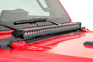 Jeep-30-inch-LED-Hood-Light-Kit-18-19-Wrangler-JL-70054-Rough-Country-Llama