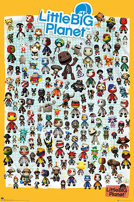 """LITTLE BIG PLANET 3 - GAMING POSTER / PRINT (CHARACTERS) (SIZE: 24"""" x 36"""")"""
