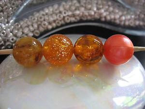 Perlenauswahl-Orange-kompatibel-mit-tipit-L
