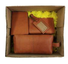 a8c802e7c62 item 1 Leather Shaving Wash Bag Travel Passport Wallet Luggage Tag Toilet  Kit Gift Set -Leather Shaving Wash Bag Travel Passport Wallet Luggage Tag  Toilet ...
