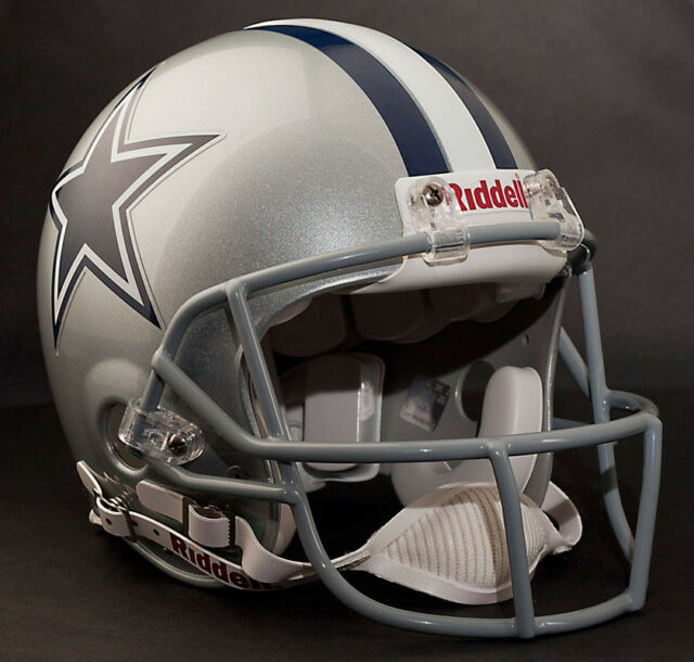 DALLAS COWBOYS Schutt ROPO-SW Football Helmet Facemask//Faceguard GRAY