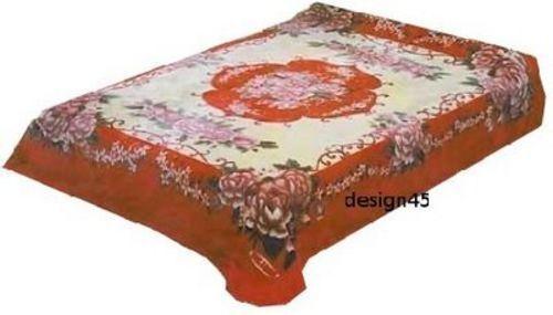Solaron Korean Blanket Throw fleurs épais vison Peluche lits Full sous licence NEUF