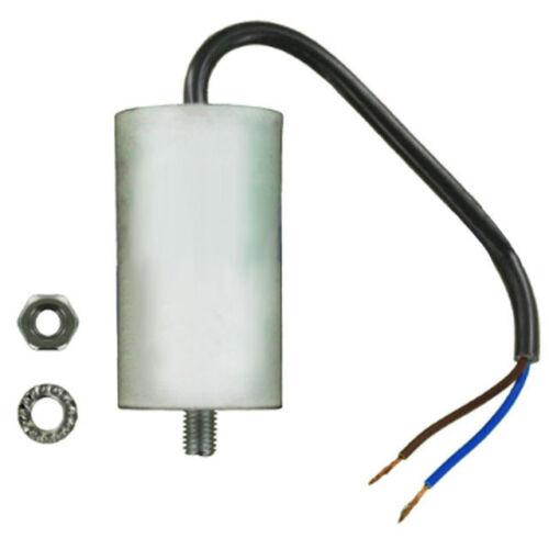 Bomba de ejecución de inicio con Cable Condensador aire acondicionado cortadora de césped motor del ventilador Cocina