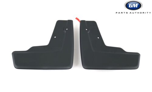 2017 Cadillac XT5 Molded Splash Guards Package Front /& Rear Black *Use w// Steps*