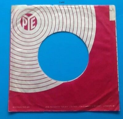 Music Replica Of Original Used Early Pye Label Company Record Sleeve Good Companions For Children As Well As Adults