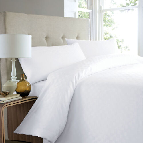 100/% Organic Cotton 350TC Duvet CoverAll Sizes|White Organic Textiles