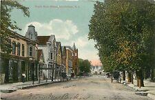 New Jersey, Woodstown, South Main Street Early Postcard
