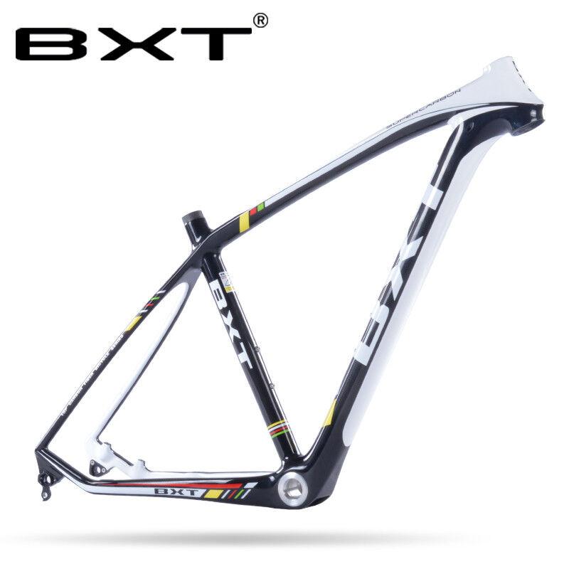 29er framest carbono cuadro para bicicleta de montaña MTB Eje Pasante De Marco de bicicleta 142 mm