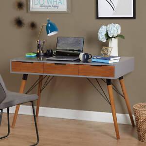 Simple Living Ervin MidCentury Desk Home Office Decor New eBay