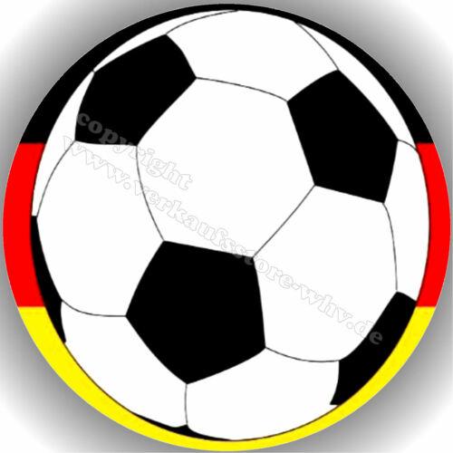Tortenaufleger Geburtstag Tortenbild Fondant Oblate Fußball T9