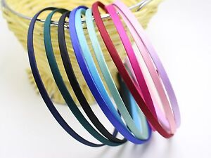 10-Mixed-Color-Metal-Headband-Covered-Satin-Hair-Band-5mm-for-DIY-Craft
