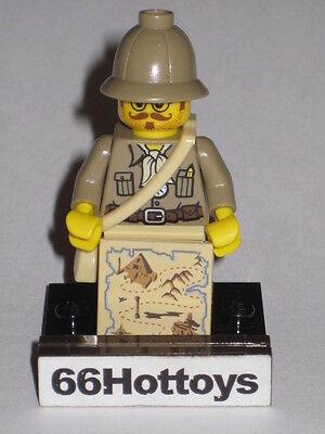 LEGO Pharaoh/'s Quest Mac McCloud Kepi MiniFigure New