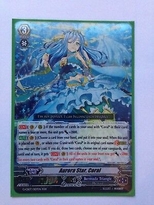 Coral Cardfight Vanguard Card Aurora Star G-CB07//007EN RRR