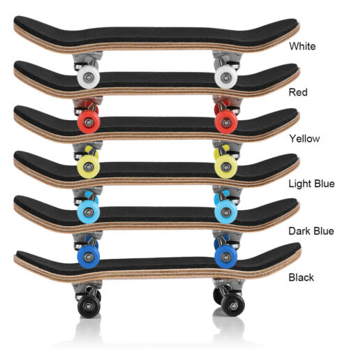 Skateboard Toys Finger Board Tech Deck Boy Kids Children Gifts 5 Layered Wood