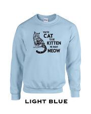 064 Kitten Me Crew Sweatshirt cool cat lover meow feline funny pur kitty animal