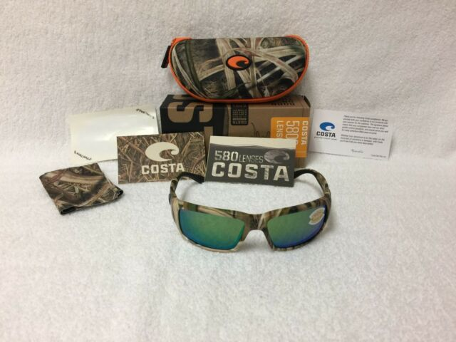 fcc10d61b Costa Del Mar Fantail Mossy Oak / Green Mirror 580p Lens TF65OGMP