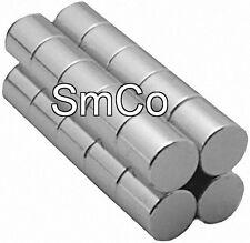 "1/4"" x 1/4"" Cylinder -SmCo - Samarium Cobalt Rare Earth Magnet, Grade N30"