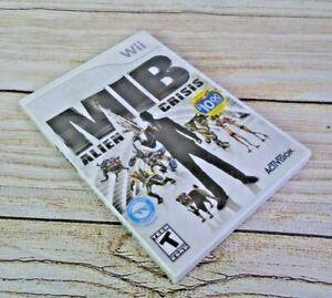 Nintendo-Wii-MIB-Alien-Crisis-Video-Game-Men-in-Black-Tested