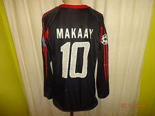 FC Bayern München Adidas Langarm CL. Matchworn Trikot 04/05 + Nr.10 Makaay Gr.L