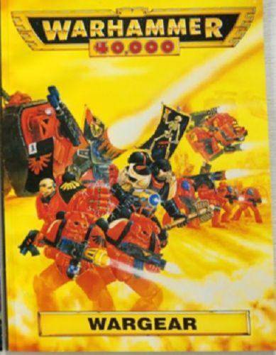 Warhammer 40000 Wargear Rulebook - Games Workshop