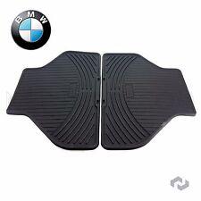 NEW BMW X5 X6 07-14 Rear All Weather Rubber Black Floor Mat Set Genuine