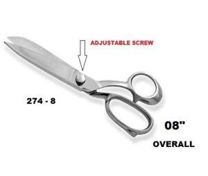 "8/"" Tailor Upholstery Scissors Shears HEAVY DUTY Stainless Steel"