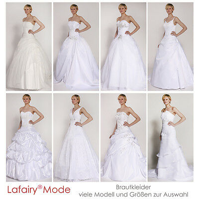 Brautkleid Hochzeitskleid viele Modelle Größen zur Auswahl elegant von lafairy