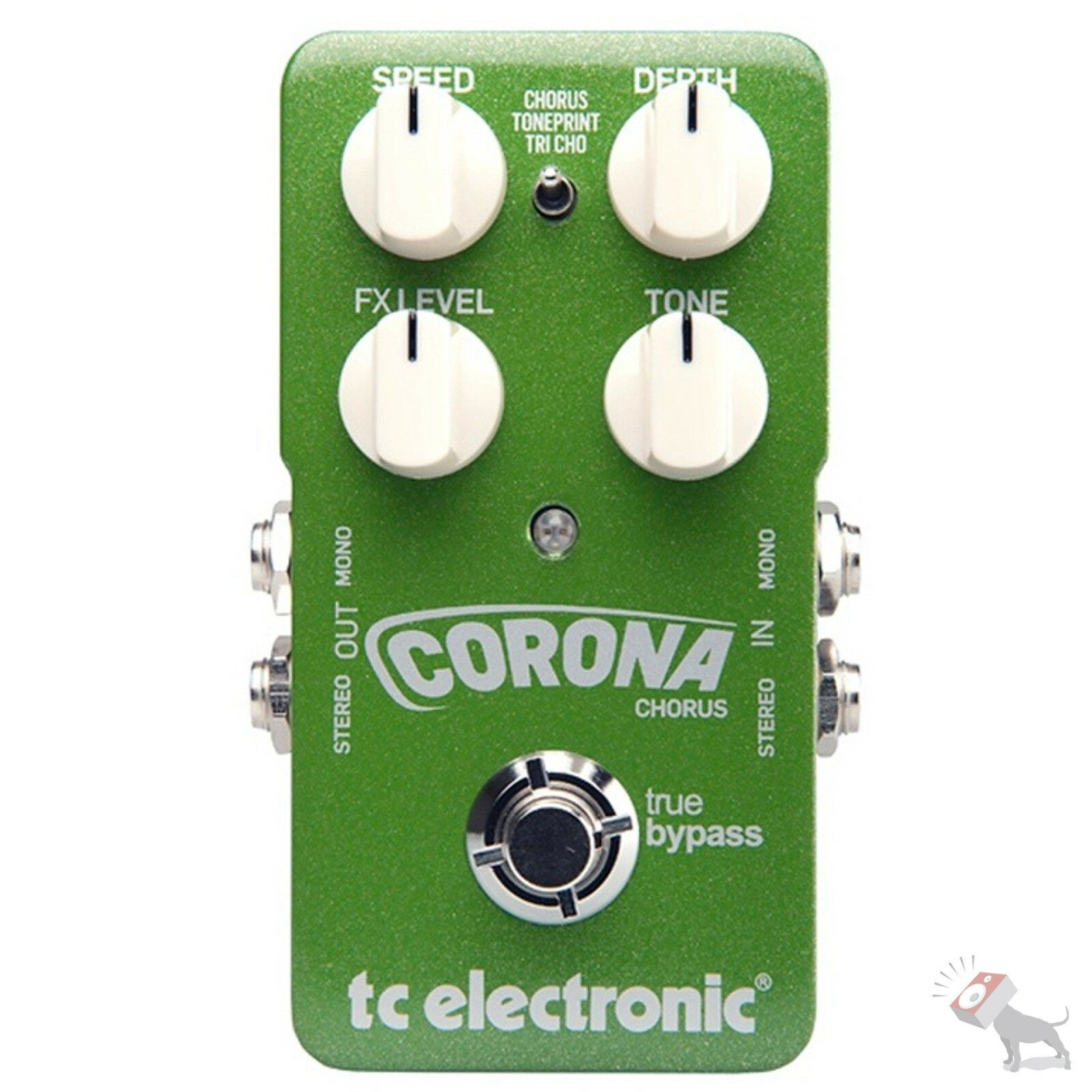 TC Electronic CGoldna Stereo Chorus Guitar Effects Pedal FX