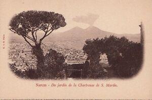 Postcard-Du-Jardin-de-La-Chartreuse-de-S-Martin-Naples-Italy