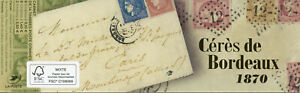 France Stamps 2020 MNH Ceres de Bordeaux 1870 14v Booklet