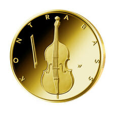 Deutschland 50 Euro Gold Kontrabass 2018 - Musikinstrumente