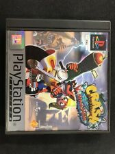 Playstation One Crash Bandicoot Warped 3 Platinum Very Rare Ps1