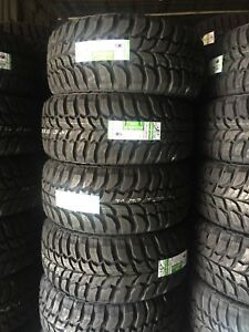 33x12 50r20 Inch Crosswind Mud Tires 4 New 33125020 12 50 33 1250 20