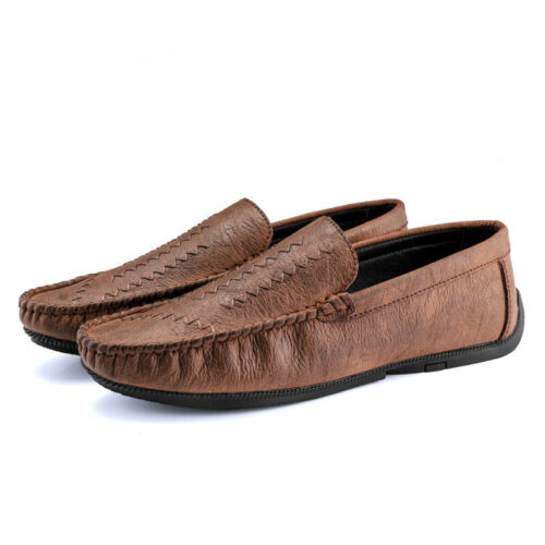 Mens Pumps Slip on Loafers Shoes Driving Moccasins Flats Soft Comfy Breathable L