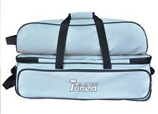NEW TORCH GRAY  3 BALL TOTE ROLLER &  W/SHOE AND ACCESSORY BAG ON SALE
