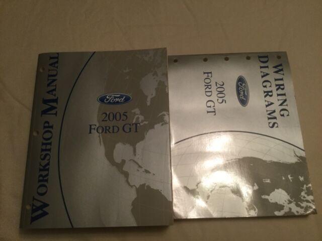 2005 Ford Gt Workshop Wiring Diagram Manuals