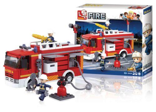 Sluban Building Blocks Fire Serie Fireconventional Pumper M38-B0626