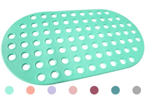 Bathtub and Shower Mat Anti-Bacterial Mold /& Mildew Resistant Non Slip