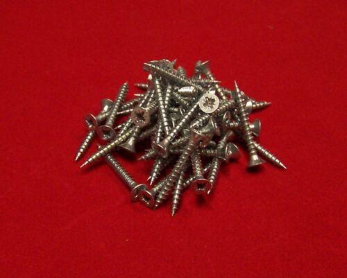50 Stück Holzschrauben 3,0 X 25 mm Kreuz mit Senkkopf ähnl DIN 7997 JD79