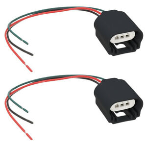 Pleasing 2 Pack H13 9008 Headlight Pigtail Wiring Harness Female Socket Wiring Digital Resources Xeirawoestevosnl
