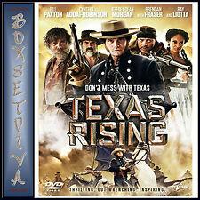 TEXAS RISING - Bill Paxton & Jeffrey Dean Morgan  **BRAND NEW DVD***