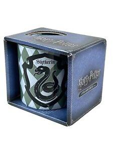 Harry Potter Slytherin Ceramic Coffee Mug House Crest Logo 14oz-414 ml, NIB.  C2